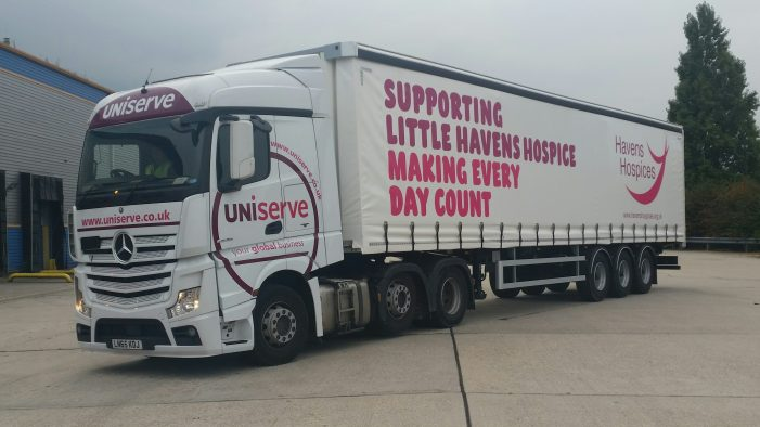 Tilbury company help Little Havens Hospice spread the message