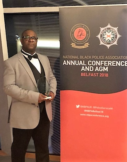 Popular Thurrock PCSO wins national award for diversity