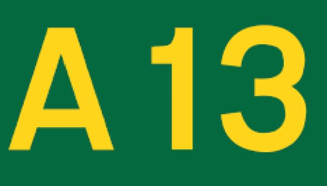 Man trapped in vehicle on A13