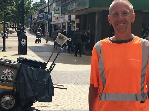 High praise for Thurrock Council worker at scene of fire in Grays
