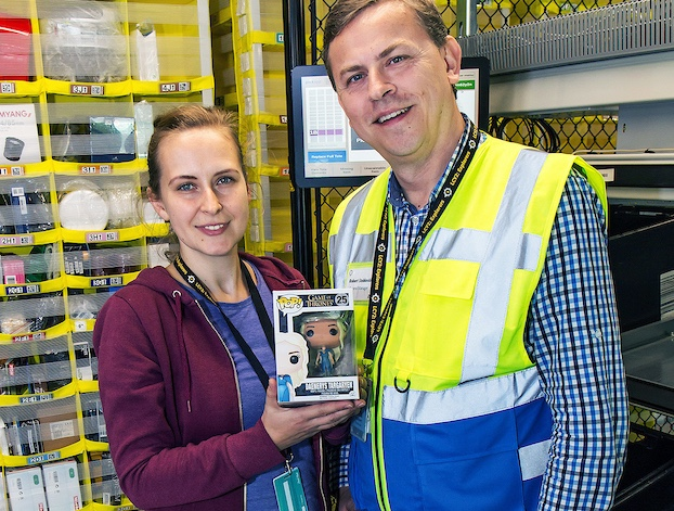 Family and friends celebrate Amazon Tilbury's new team