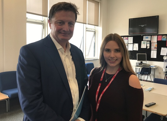 Anna prepares for dream career with Royal Opera House work experience.