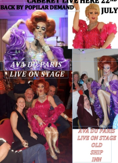 Ava is back at the Old Ship Inn, Aveley