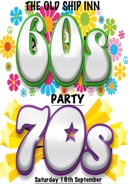 Sixties and seventies night at the Old Ship Inn, Aveley