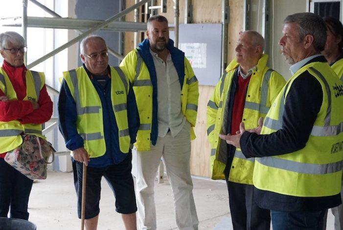 Grays Athletic take tour of Aveley's new ground
