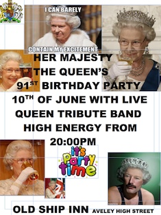Old Ship Inn set to celebrate Queen's 91st birthday