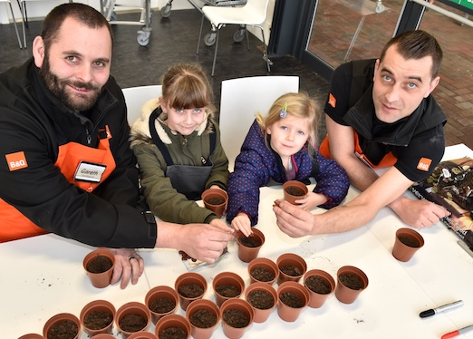 Spring into half term fun at B and Q in West Thurrock