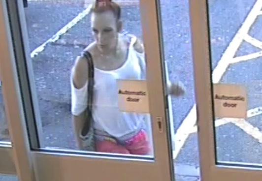 Police keen to speak to woman over theft from BP Garage on A13