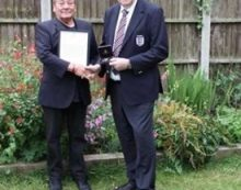 South Ockendon man praised for fifty years service  to football in Thurrock