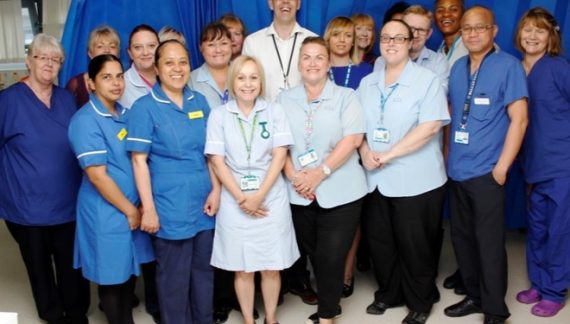 Compassionate care leads to award for Basildon Hospital department