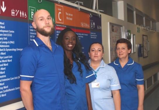Theatre group make a drama in anti-violence campaign at Basildon Hospital