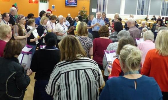 Basildon Hospital hold Christmas Carol Concert