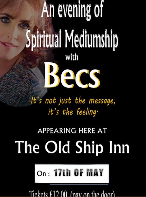 This week at the Old Ship Inn, Aveley