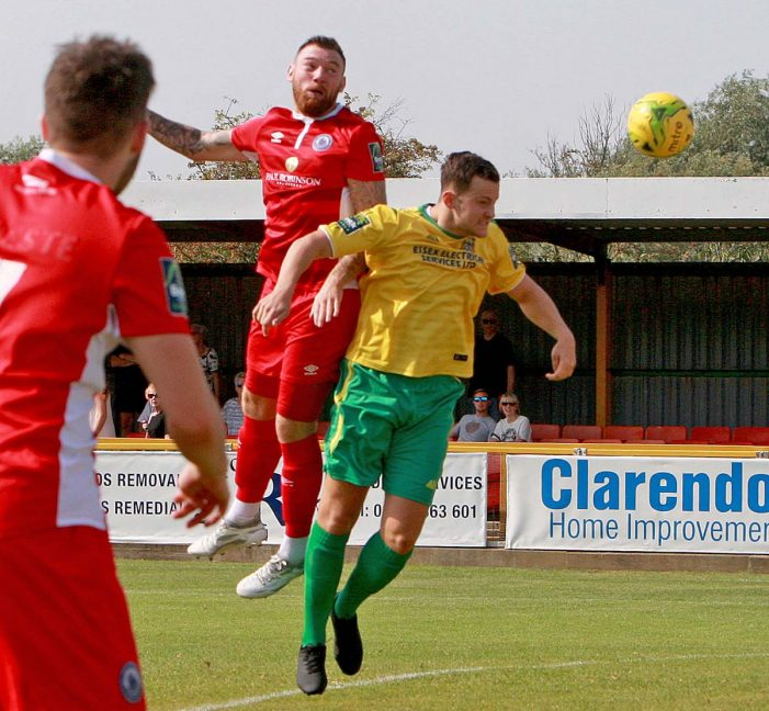 Football: Thurrock outclassed by Leiston
