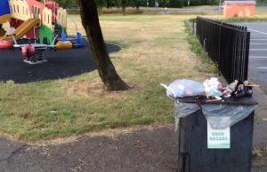 Blackshots Park Litter