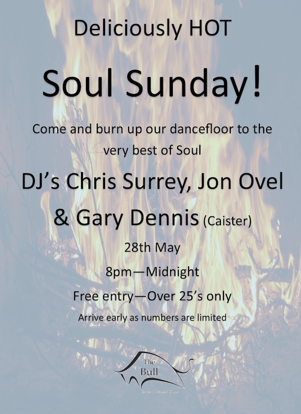 Super Soul at the Bull this weekend