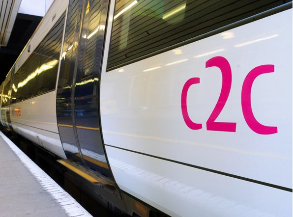 C2C return to top of punctuality league