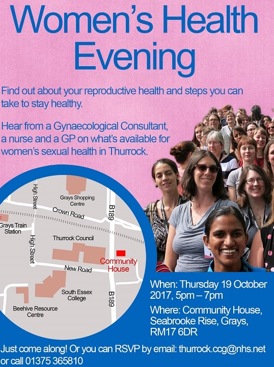 Women's health event in Thurrock set to show how you can protect your health