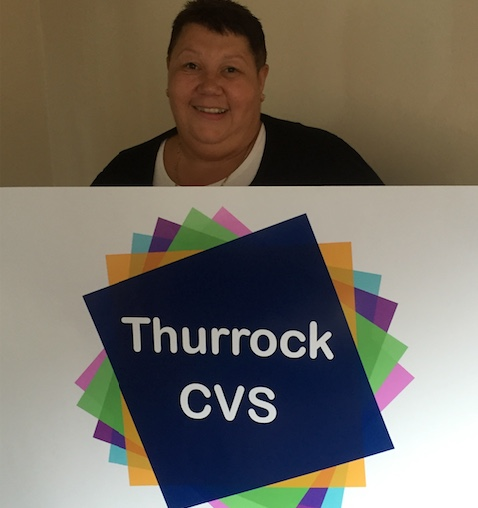 All change as Thurrock CVS unveils new logo and website.