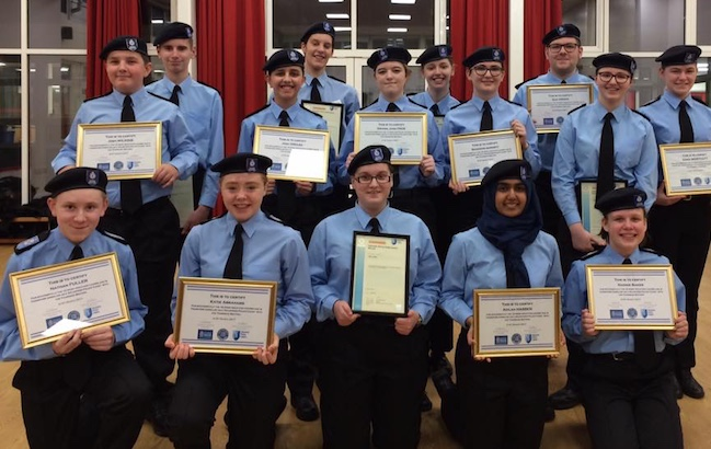 Thurrock Volunteer Police Cadets pass out after 12-week course