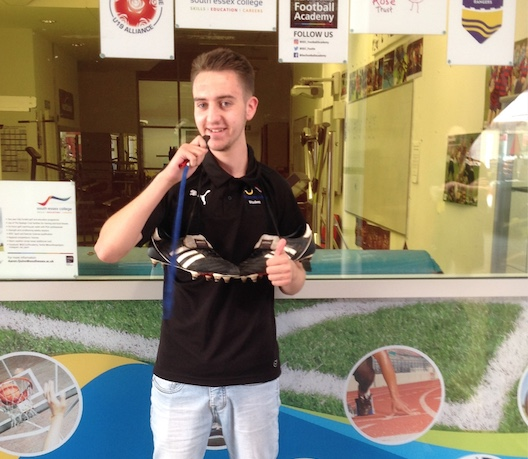 South Essex College Callum's inspirational sport story