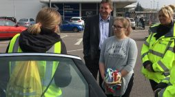 Car Seat checking day of action in Thurrock