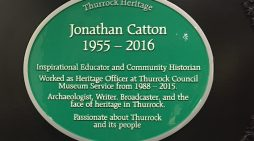 Plaque unveiled to memory of Thurrock historian