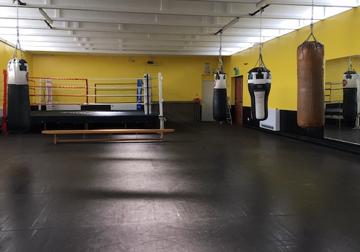 Port of Tilbury give Chadwell St Mary Boxing Club £10K facelift