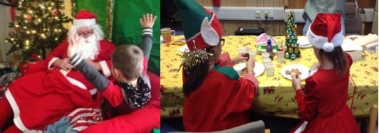 Santa comes to the Chadwell Community Hub