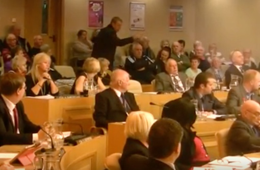 Angry scenes at Thurrock Council meeting over service charges