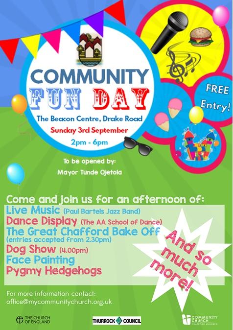 Chafford Hundred Community Fun Day