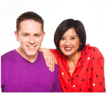 Chris and Pui are at the Thameside
