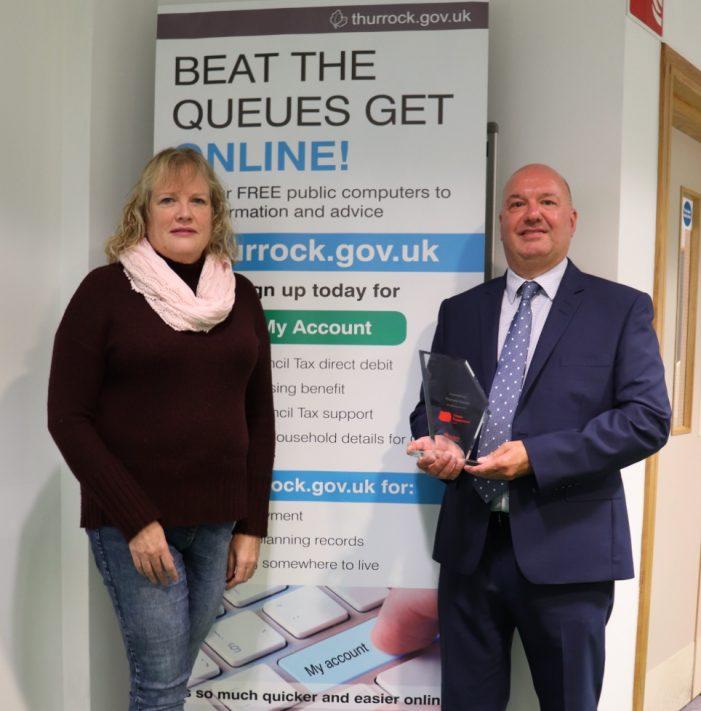 Thurrock Council win award for Citizen Engagement