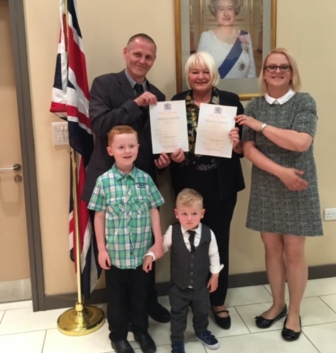 Mayor of Thurrock welcomes new citizens