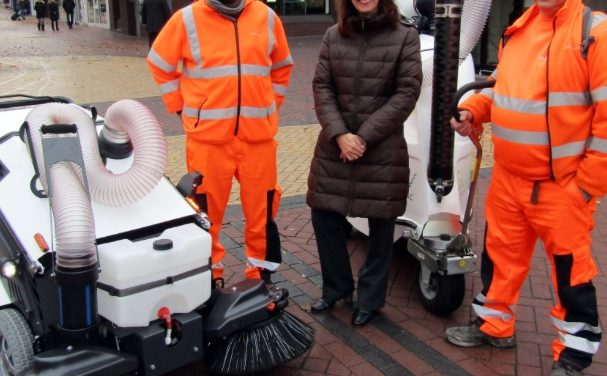 New street cleaning equipment on trial in Thurrock