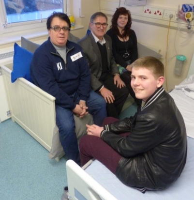 Donations make a brighter space for young cancer patients at Basildon Hospital