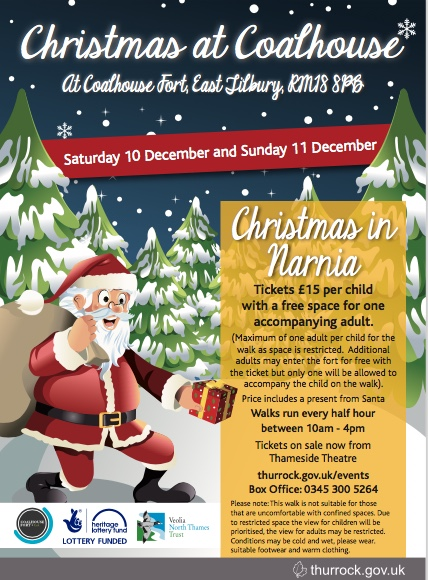 Christmas Narnia at Coalhouse Fort