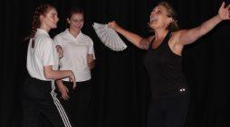 Commedia characters take over Royal Opera House Thurrock Trailblazer school, Ormiston Park Academy
