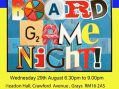 Contact the Elderly Board Games Night