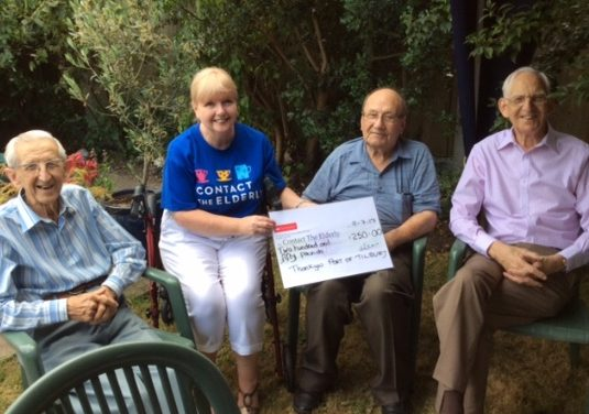 Thurrock's Contact the Elderly receive cash boost from port of Tilbury