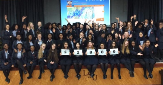 Grays Convent pupils raise over £2800 for charity by fasting for 24 hours