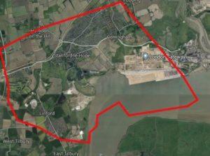 Corringham Map