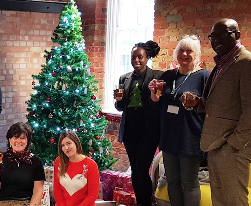 Old Courthouse in Grays brings Christmas cheer to St Luke's Hospice