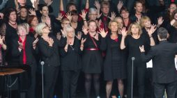 Thurrock Community Chorus fly the flag at Royal Opera House
