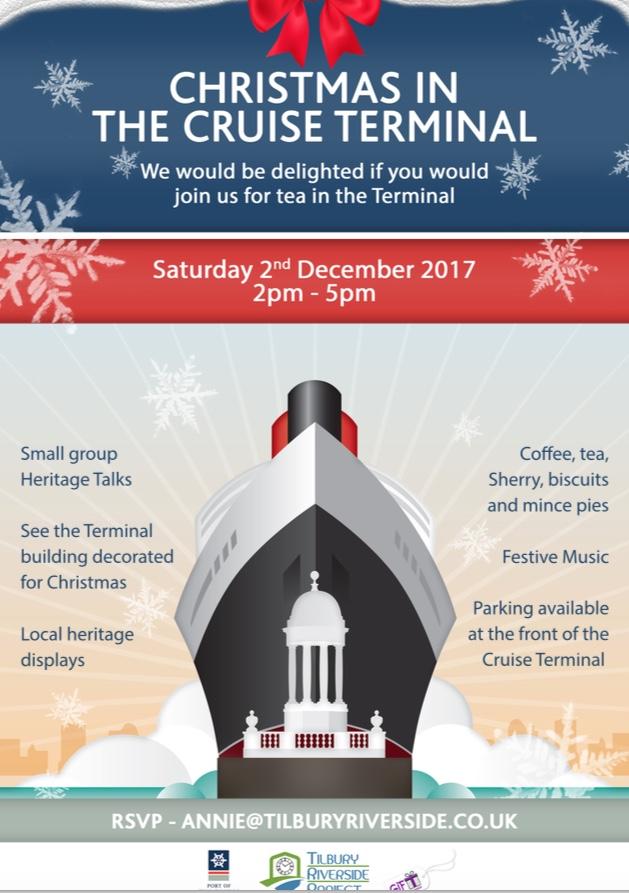 Christmas at the Tilbury Cruise Terminal
