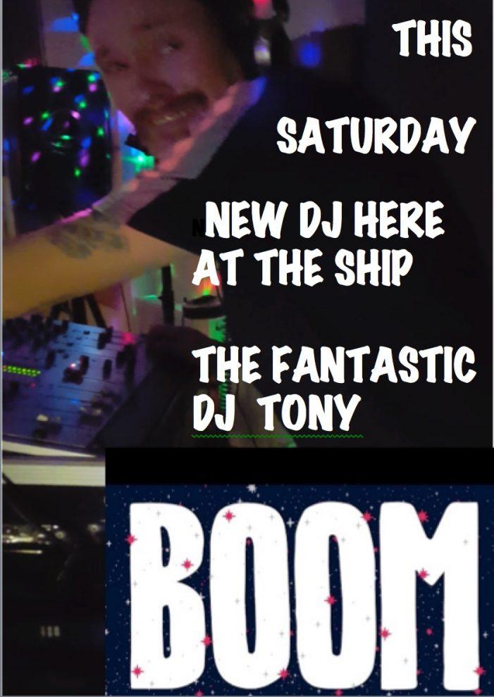 DJ Tony at The Old Ship Inn, Aveley