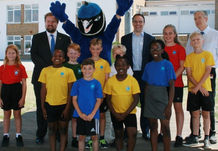 The Daily Mile celebrated at Woodside Academy