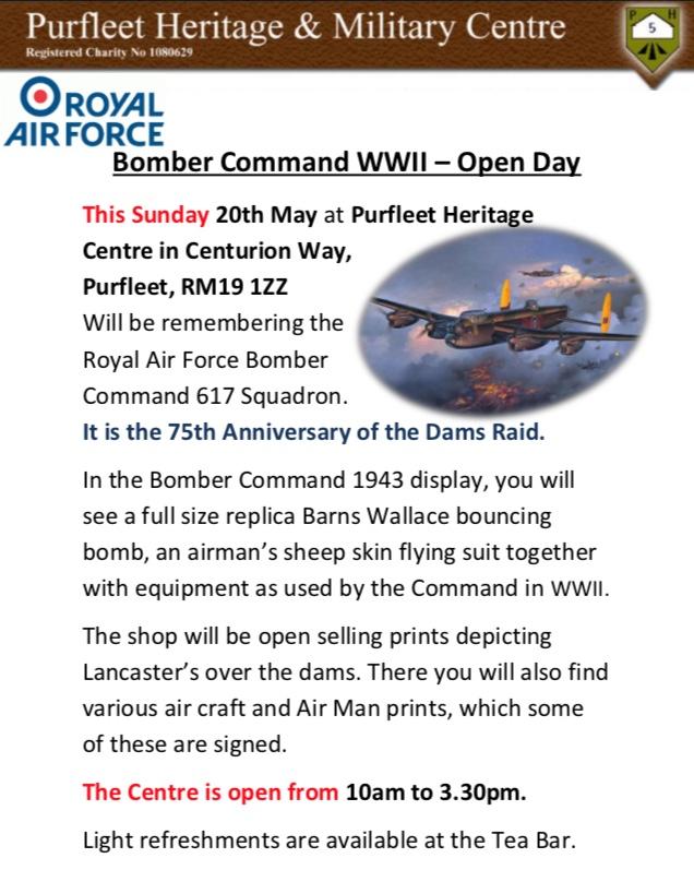 Bomber Command Open Day in Purfleet