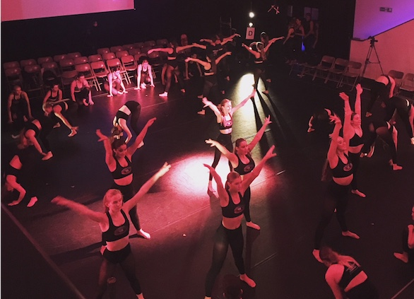 South Essex College students put on dance demonstration
