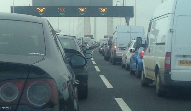 Traffic and Travel: Long delays on M25